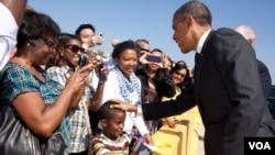 Obama ha sido enfático en plantear a los jóvenes estudiantes estadounidenses que tengan confianza.