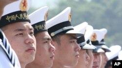 中國海軍駐港官兵虎。