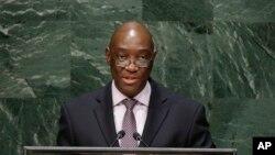 Oldemiro Marques Baloi, mininistro dos Negócios Estrangeiros de Moçambique