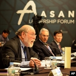 UK Atomic Energy Authority Chairman Roger Cashmore, Seoul, South Korea, Dec. 12, 2011.