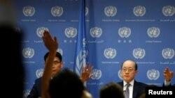 Đại sứ Trung Quốc ở Liên Hiệp Quốc Lưu Kết Nhất.
