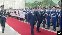 伊拉克總理馬利基正在中國訪問