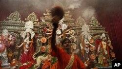বাংলাদেশ ও ভারতে শারদীয় দুর্গা উত্সব পালিত হলো