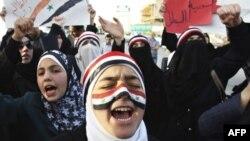 Анти-правительственные демонстрации в Сирии