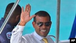 Mantan Presiden Maladewa Mohammed Nasheed (Foto: dok.)