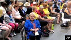 Bobbi Wailes contracted polio as a child. Today she runs the Lincoln Center programs for disability