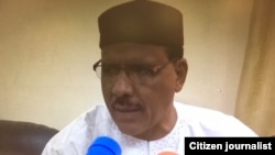 NIGER: Hashimi Masa'udu Ministan Tsaron Nijar