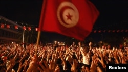Protests in Tunis after the Assassination of Mohamed Brahmi