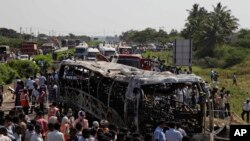 Deadly Bus Crash in India