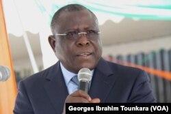 Cissé Ibrahim Bacongo croit toujours en l'alliance RHDP, à Abidjan, en Côte d'Ivoire, le 24 avril 2017. (VOA/Georges Ibrahim Tounkara)