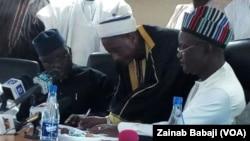 Gwamnan jihar Binuwai da wasu shugabannin Fulani