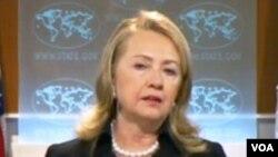 Hillary Clinton que se encontra numa digressão europeia não perdeu a oportunidade para mais uma vez falar da crise na Síria