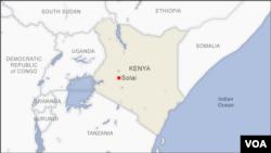 Ramani ya Afrika Mashariki