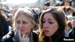 Funeral in Jerusalem for Victims Slain in Paris Grocery