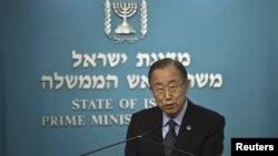En un video, el martes, el secretario general Ban Ki-moon instó a israelíes y palestinos a oponerse al terror y a la incitación