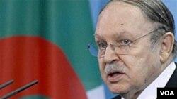 Presiden Aljazair Abdelaziz Bouteflika