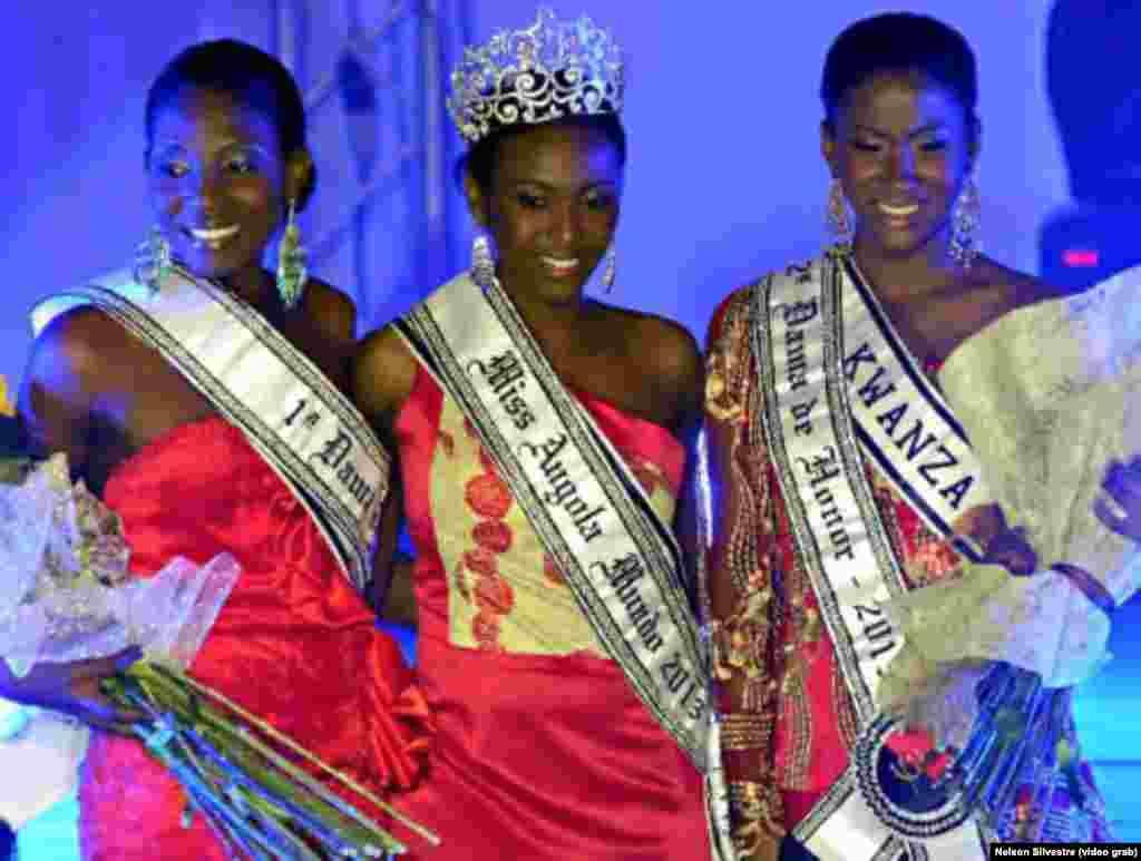 Vaumara Rebelo, Miss Angola 2013.