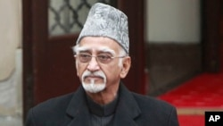 Retiring Indian Vice-President Mohammad Hamid Ansari says, Aug. 10, 2017, intolerance was growing in India with Hindu hardliners questioning the nationalism of Muslims.