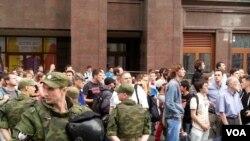 Дело Навального: протесты в Москве
