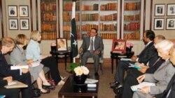 رییس جمهوری پاکستان با نخست وزیر بریتانیا ملاقات می کند