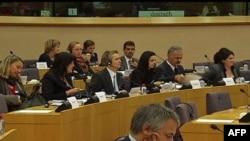 Predstavnici regionalne komisije za istraživanje istine o ratnim zločinima počinjenim na tlu bivše Jugoslavije na skupu sa evropskim parlamentarcima u Briselu