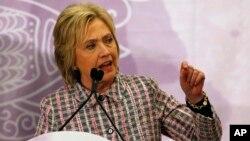 Las declaraciones de Clinton se realizaron en una conferencia organizada por la Fundación Trayvon Martin que ayuda a las madres cuyos hijos o familiares fallecieron en tiroteos.