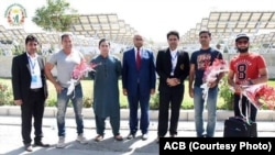 مواصلت عبدالرزاق و سکندر رضا، دو بازیکن پیشین تیم ملی کرکت پاکستان به کابل