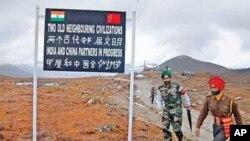 印度和中國邊境