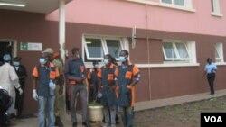 Serviços de Emergencia do Hospital de Malanje em Angola