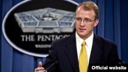 조지 리틀 미 국방부 대변인. (자료사진)