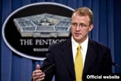 美国国防部发言人乔治•利特尔(资料照片)