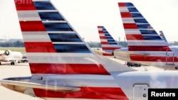 Archivo - Líneas aéreas estadounidenses preparadas para el incremento de pasajeros en la época de Navidad.