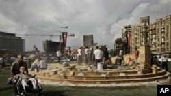 Trg Tahrir u Kairu.