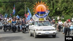 CNRP campaign on 5th day of campaign period, July 1, 2013.