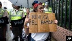"""La marcha del 1 de septiembre ha sido denominada por la oposición comol la """"Gran Toma de Caracas""""."""