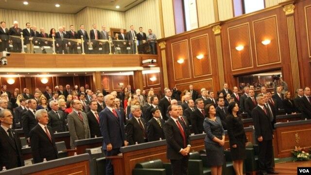 Parlamenti i Kosovës shënon përvjetorin e pavarësisë