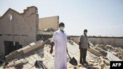 Клініка у місті Злітан, яку, за твердженням лівійського уряду, знищили літаки НАТО