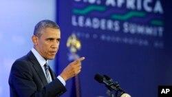 Obama pidió a los representantes de naciones africanas abordar las crisis de salud, seguridad y corrupción que afectan a sus países.