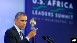 Obama US Africa Summit