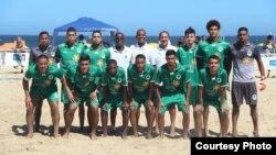 حضرت گل باران در این تیم فوتبال ساحلی لیگ برازیل بازی می کند و در دو رقابت ۴ گول زده است.