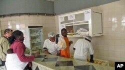 Padaria no Namibe