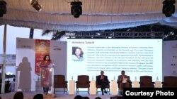 فیسٹول کی اختتامی تقریب اتوار کو کراچی کے ایک مقامی ہوٹل میں منعقد ہوئی۔