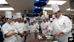 Institut Kuliner Amerika (Food Culinary Institute of America) di New York (Foto: dok).