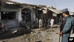 د افغانستان په ختیځ کې په چاودنه کې ۱۷ کسه ټپي شوي