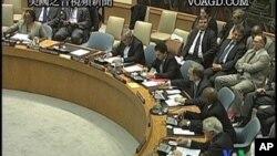 國際刑事法院首席檢察官在聯合國安理會說說正在爭取有關方面交出卡扎菲兒子賽義 夫.伊斯蘭