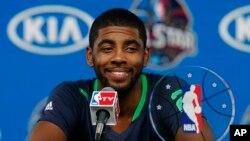 Kyrie Irving des Cleveland Cavaliers le 16 février 2014.