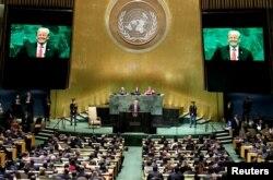 Suasana Sidang Umum PBB di Markas Besar PBB, New York. (Foto: dok).