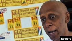 El conocido disidente cubano Guillermo Fariñas realiza una gira por Estados Unidos y Europa.