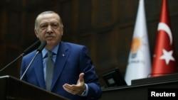 土耳其总统埃尔多安(2018年10月30日)