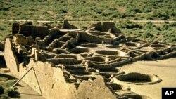 뉴멕시코 주에 위치한 차코 문화 국립 역사 공원